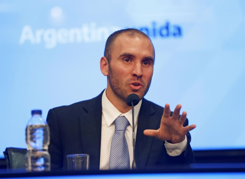 Argentina's Economy Minister Martin Guzman said that the deal meant Argentina would benefit from US$37.7 billion in debt relief while its annual interest rate will drop from seven per cent to three per cent. — Reuters pic