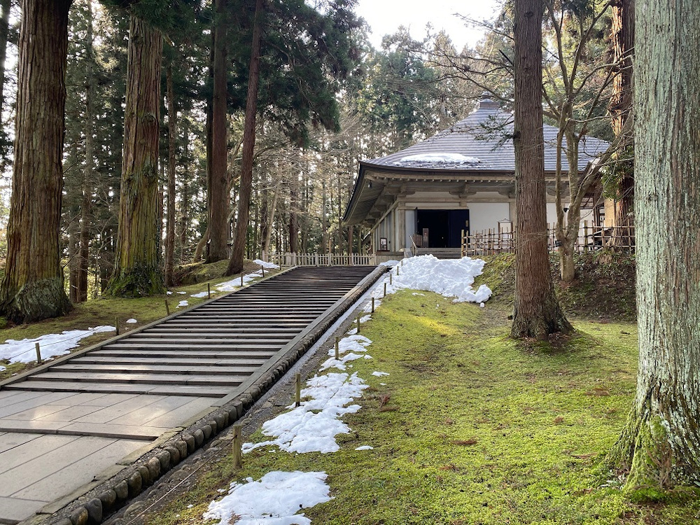 Chuson-ji Buddhist Temple in Hiraizumi was declared a Unesco World Heritage Site in 2011. — Picture by Melanie Chalil