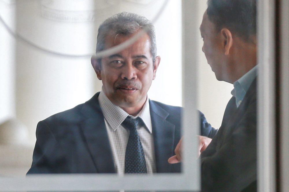 Former Finance Ministry deputy secretary-general Dr Uzailee Abdul Latif is pictured at the Kuala Lumpur High Court, February 12, 2020. ― Picture by Ahmad Zamzahuri