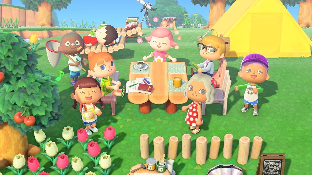 'Animal Crossing: New Horizons' has multiplayer for eight people online or on the same console. — Picture from Nintendo via AFP-Relaxnews