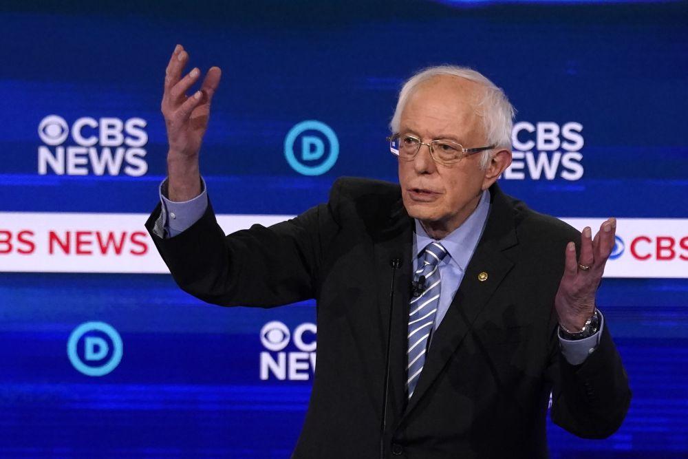 Democratic 2020 US presidential candidate Senator Bernie Sanders's main competitor is Joe Biden. ― Reuters pic
