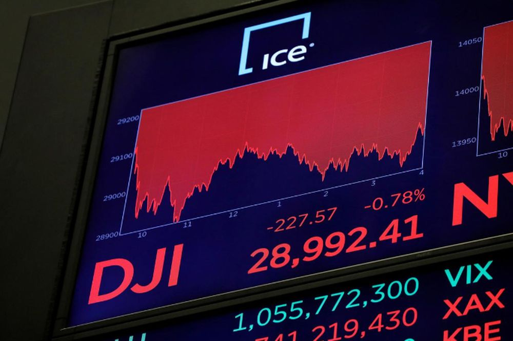 Wall St opens flat as labour market recovery slows