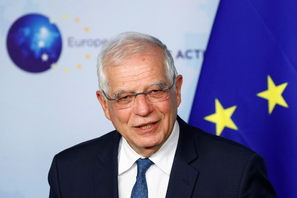 EU policy chief Josep Borrell said there were 'concerning developments' on Iran's nuclear activity. — Reuters pic