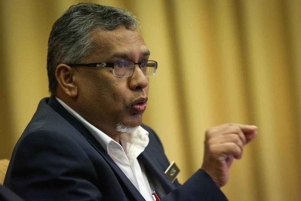 哈尼巴表示,联邦宪法保障了所有人的宗教自由。-Yusof Mat Isa摄-