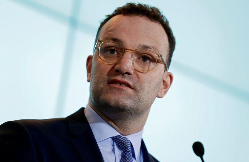 German Health Minister Spahn,said the world was still insufficiently prepared for pandemics. — Reuters pic