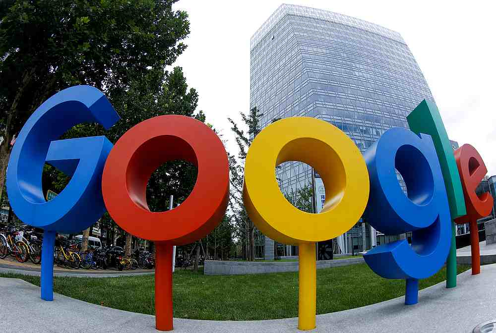 The brand logo of Alphabet Inc's Google is seen outside its office in Beijing, China August 8, 2018. — Reuters pic