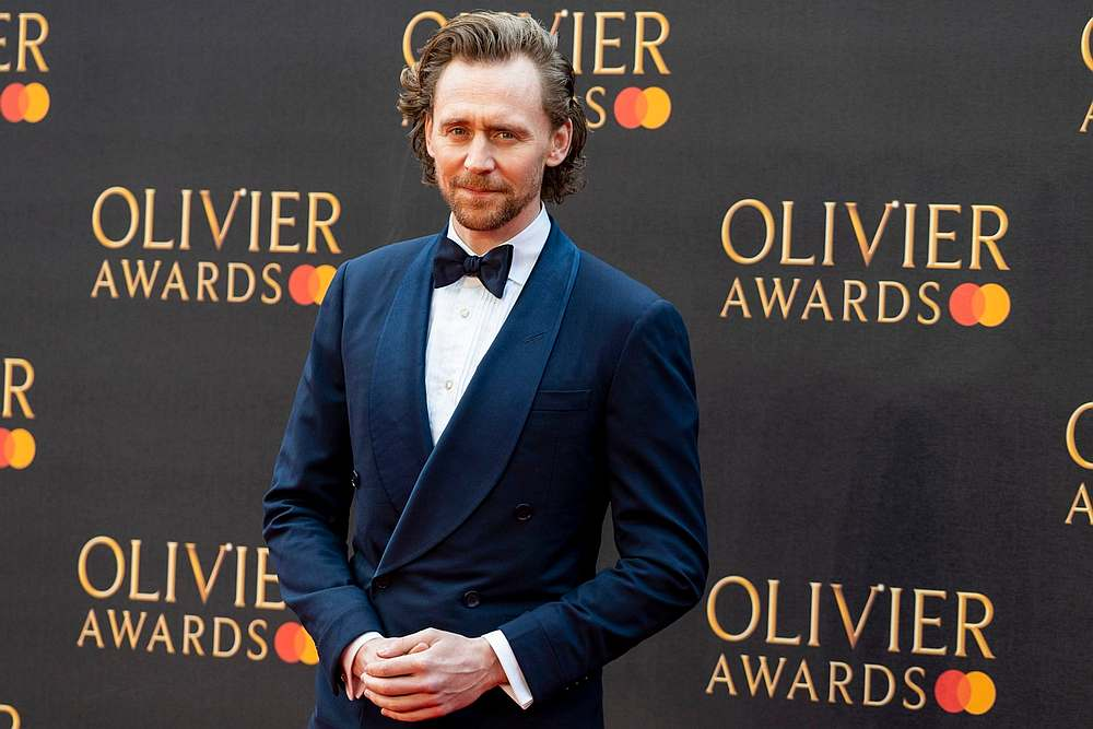 Tom Hiddleston is widely known for his work in the Marvel Cinematic Universe, which began in 2011 when he took on the role of Loki in Kenneth Branagh's 'Thor.' — AFP pic
