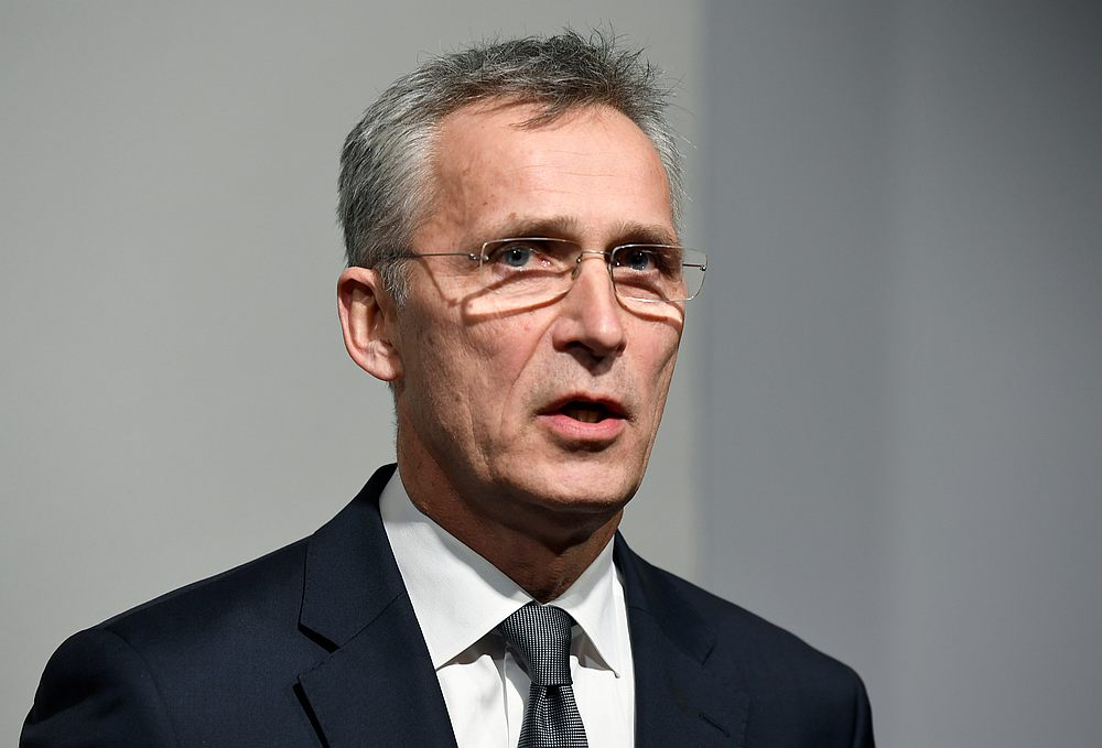 Nato Secretary General Jens Stoltenberg called the forced landing a 'state hijacking'. — Reuters pic
