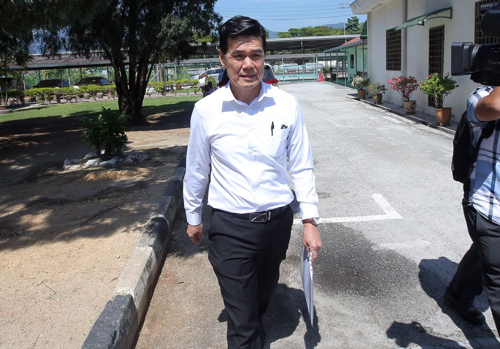 Lee Weng Hua, who represented Pizza Hut Restaurants Sdn Bhd, entered a guilty plea to a charge under Section 15 (1) of the Occupational Safety and Health Act 1994 before judge Norashima Khalid. — Picture by Farhan Najib