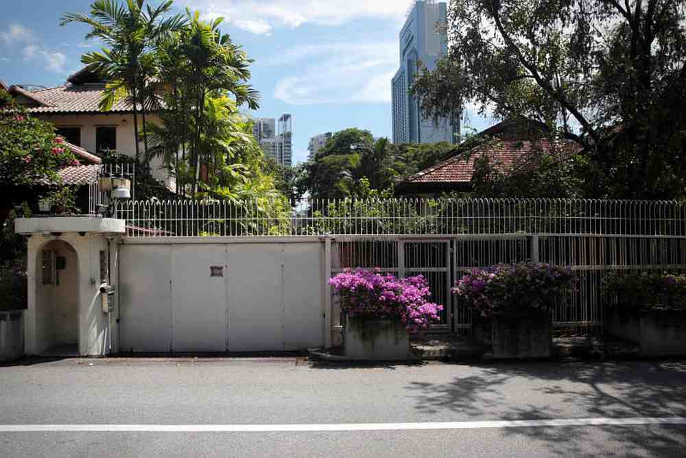 The fate of the late Lee Kuan Yew's home at 38 Oxley Road in Singapore has been the centre of a dispute between his children:  Prime Minister Lee Hsien Loong, Dr Lee Wei Ling and Lee Hsien Yang. — TODAY pic