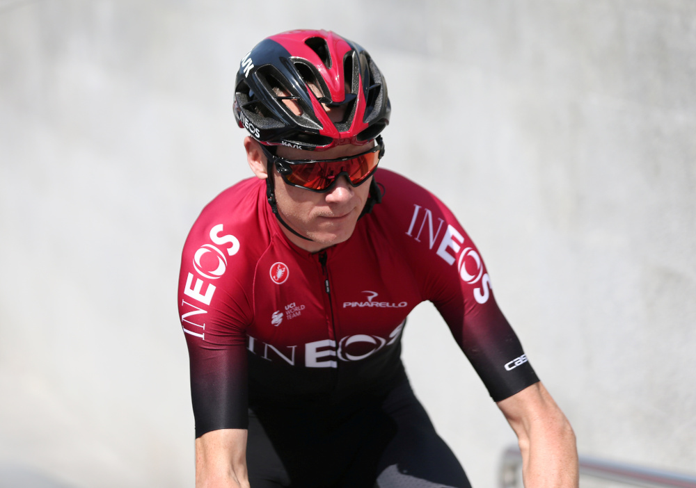 Team Ineos' Chris Froome will ride against France's Warren Barguil of Team Arkea Samsic in the head-to-head format, with Nibali taking on CCC Team's Simon Geschke of Germany. — Reuters pic