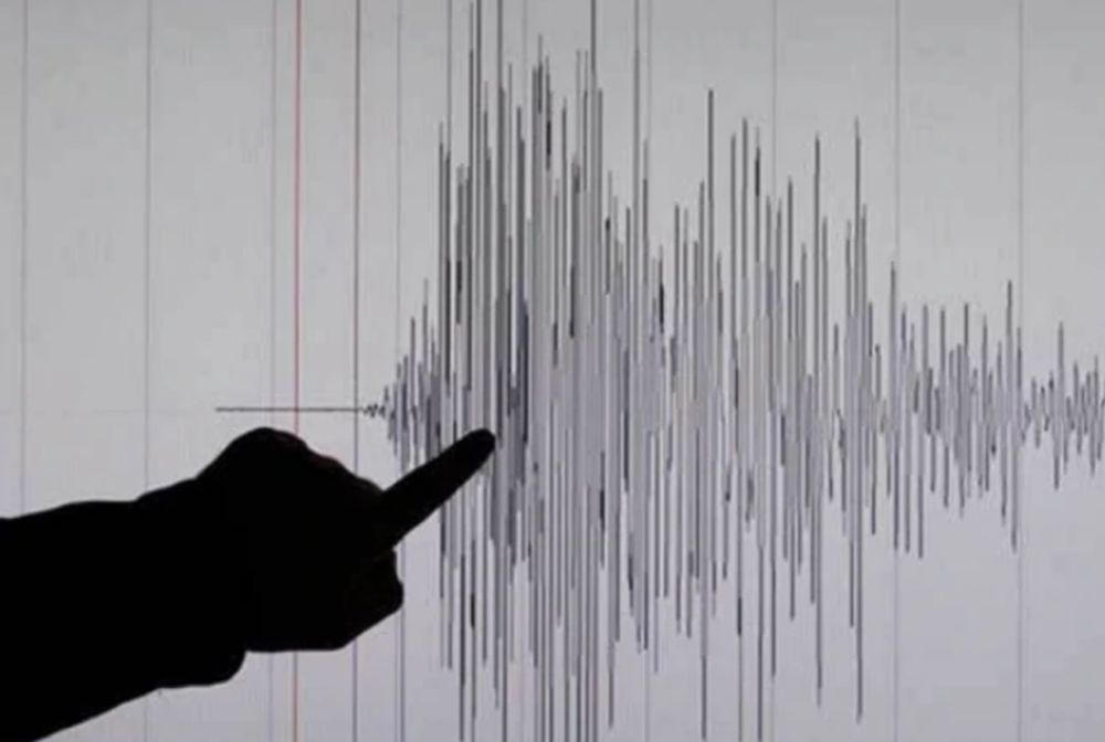 A moderate earthquake measuring 5.6 on the Richter scale hit south of Sumbawa, Indonesia at 6.36pm April 15, 2021. — Reuters file pic