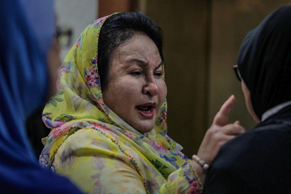 Datin Seri Rosmah Mansor arrives at the Kuala Lumpur High Court February 20, 2020. — Picture by Hari Anggara