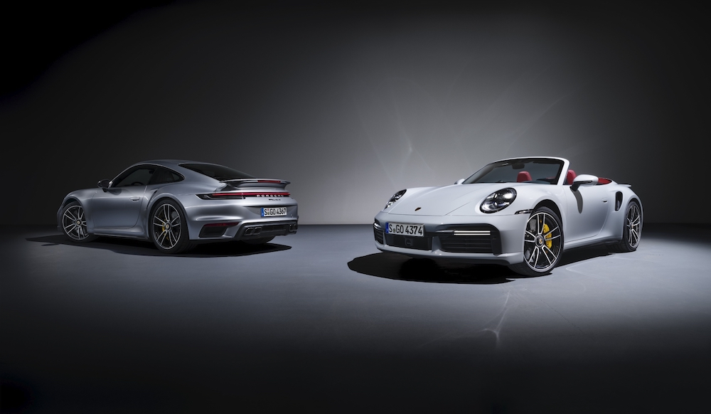 The new Porsche 911 Turbo S and 911 Turbo S Cabriolet — Picture courtesy of Porsche