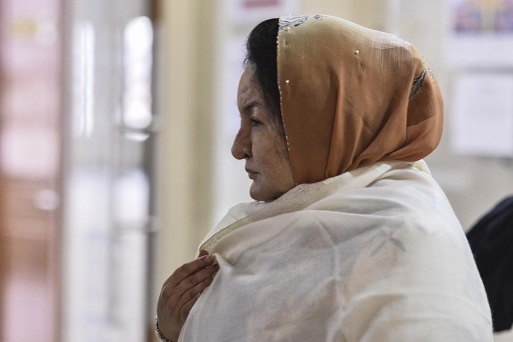Datin Seri Rosmah Mansor is seen leaving the Kuala Lumpur High Court, March 9, 2020. — Picture by Miera Zulyana