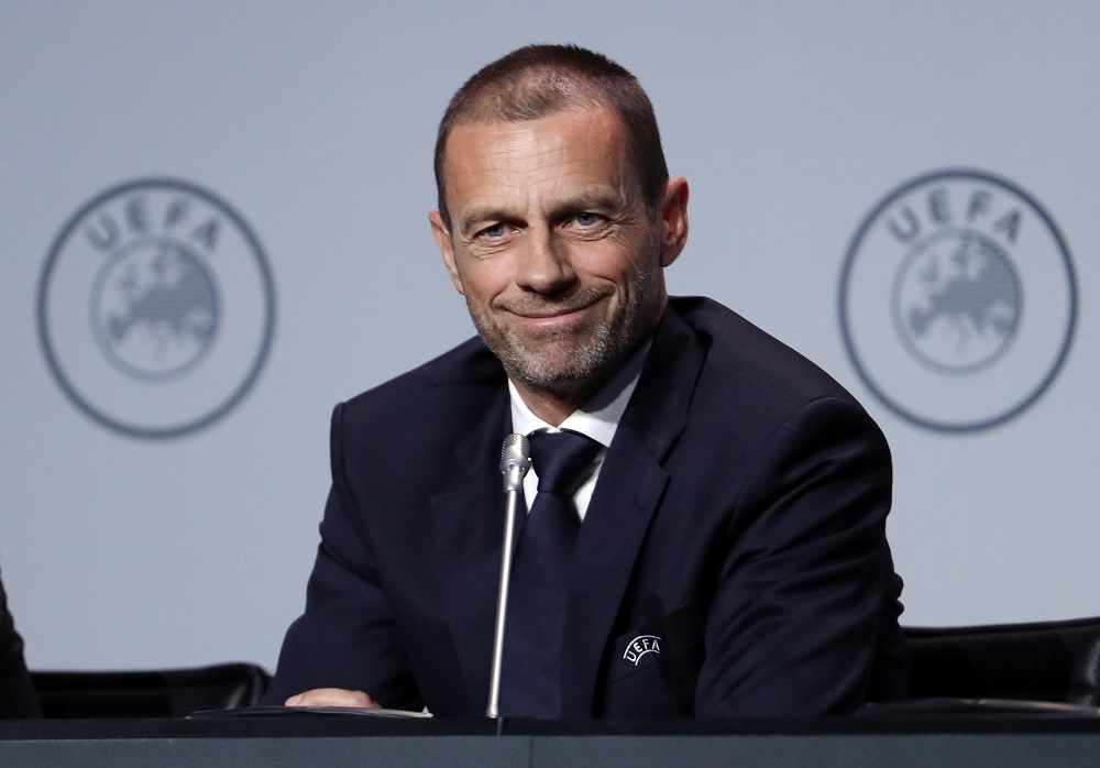 Uefa President Aleksander Ceferin said he did not expect football to change once the situation returns to normal but added that Financial Fair Play (FFP) regulations could be adapted to the 'new times'. — Reuters pic