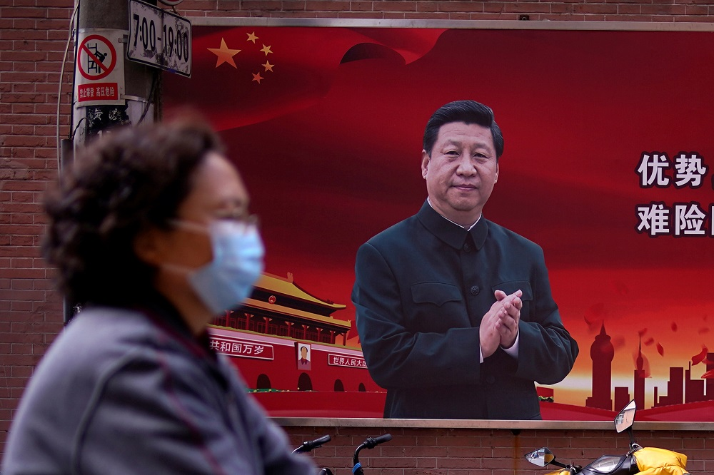State media credit Xi's leadership with lifting nearly 100 million people from poverty, a milestone he declared in December and framed as a birthday gift for this year's 100th anniversary of the ruling Chinese Communist Party. — Reuters pic