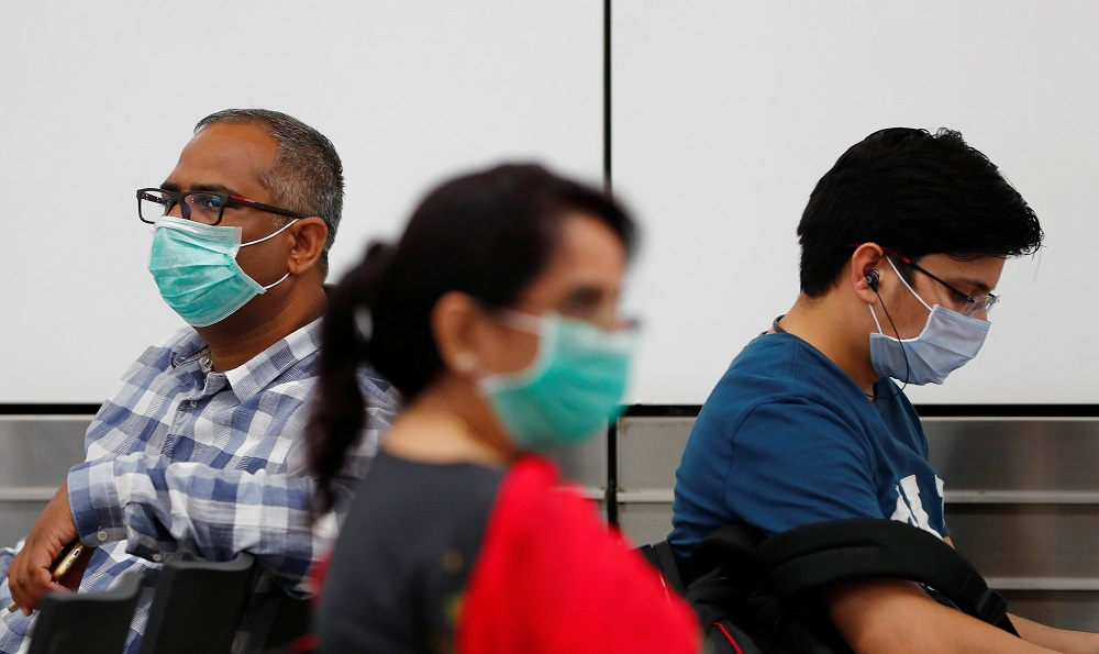 India is battling a deadly second wave of Covid-19 with daily infections this week passing the peak of the first wave seen last September. — Reuters pic