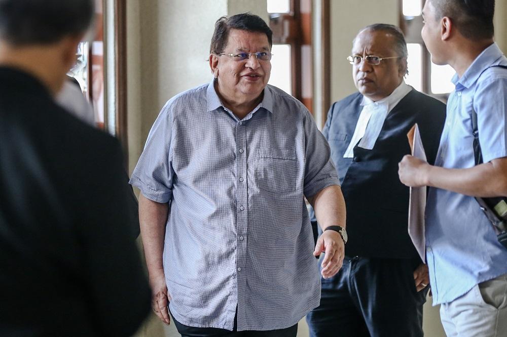 Datuk Seri Tengku Adnan Tengku Mansor is pictured at the Kuala Lumpur High Court March 4, 2020. — Picture by Firdaus Latif