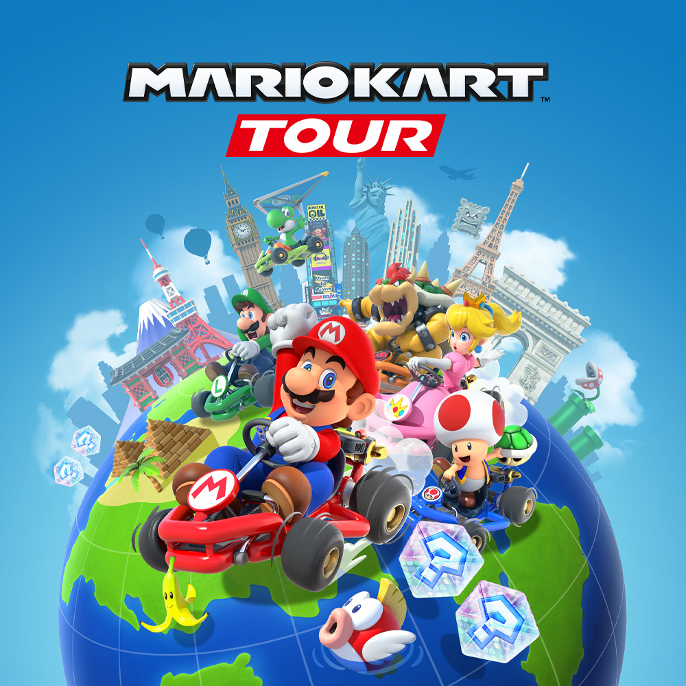 'Mario Kart Tour' is to add multiplayer for up to eight human racers. — Picture courtesy of Nintendo