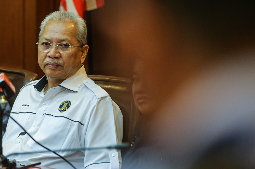 Federal Territories Minister Tan Sri Annuar Musa said the blueprint, if implemented during this trying times of Covid-19 pandemic, must totally be adjusted in tandem with the ongoing RMCO. — Hari Anggara