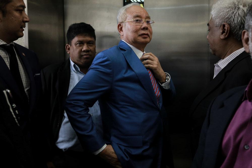 High-profile corruption cases that will be affected by this decision are former prime minister Datuk Seri Najib Razak's trial over 1MDB, Umno president Datuk Seri Ahmad Zahid Hamidi's trial, and Umno treasurer Datuk Seri Tengku Adnan Tengku Mansor's trial over an alleged RM2 million bribe.— Picture by Ahmad Zamzahuri