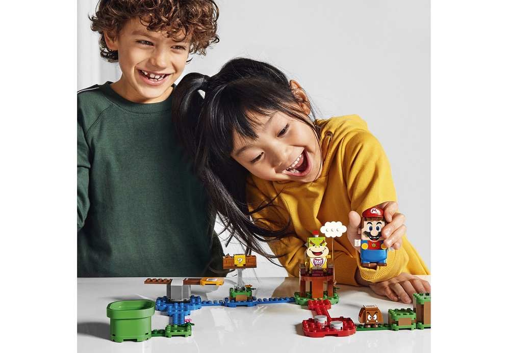 Nintendo has been expanding its footprint through mobile games, Universal theme park attractions, and now Lego. — Picture by Lego Group/Nintendo