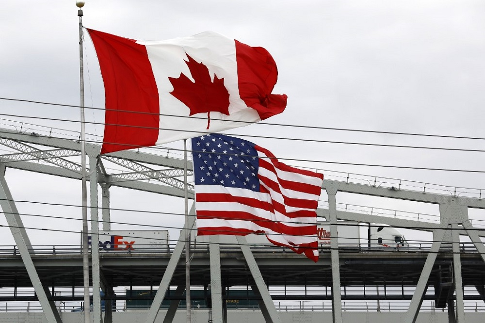 Total trade with the United States — Canada's largest trading partner — fell by Can$23.4 billion, representing more than 90 per cent of Canada's decreased trade activity in April. — AFP pic