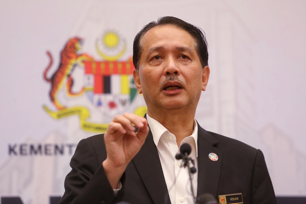 Health director-general Tan Sri Dr Noor Hisham Abdullah said health authorities are still waiting for the final report on the efficacy of the vaccines. — Picture by Choo Choy May