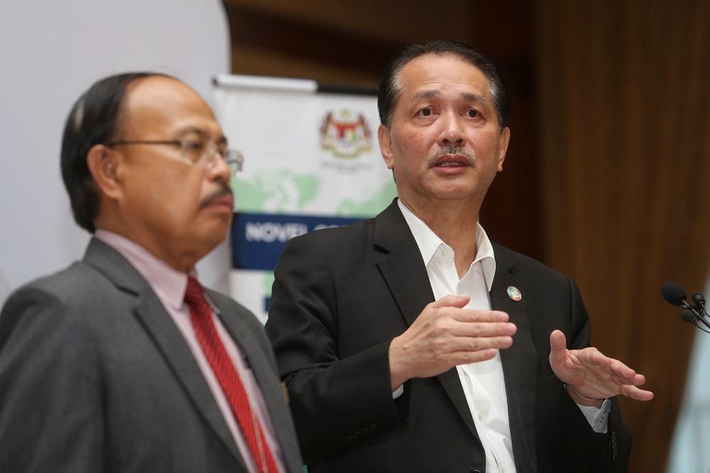Health director-general Datuk Dr Noor Hisham Abdullah at a press conference in Putrajaya March 24, 2020. — Picture by Choo Choy May