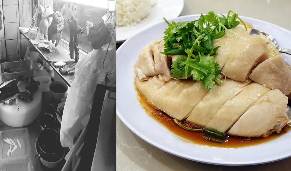Facebook user Gary Chong shared the story of his encounter with a chicken rice seller to illustrate the plight faced by hawkers during the Covid-19 shutdown. — Picture via Facebook/garychongkhinjin and Pixabay pic