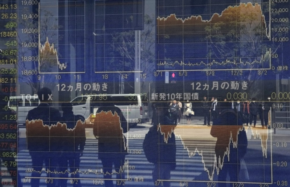 Early in the Asian trading day, MSCI's broadest index of Asia-Pacific shares outside Japan was up 0.1 per cent.  — AFP pic