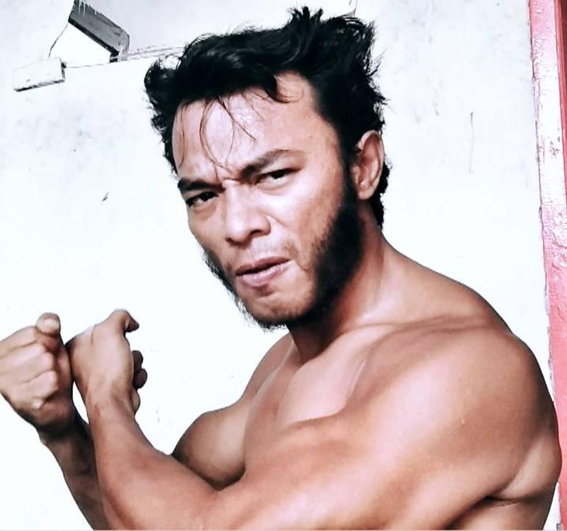 Indonesian man Hendry Causa Sibala has been impersonating Wolverine since 2018. — Picture via Facebook/www.cob