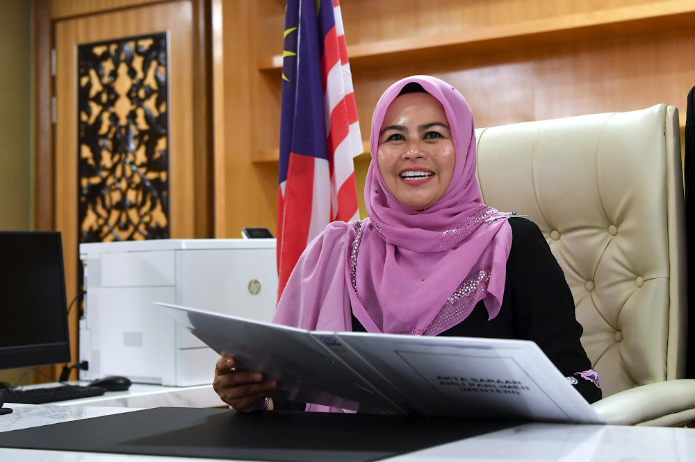 Higher Education Minister Datuk Seri Dr Noraini Ahmad said the total dividend payout is estimated to amount to RM201.3 million, benefitting 4.82 million SSPN depositors. — Bernama pic