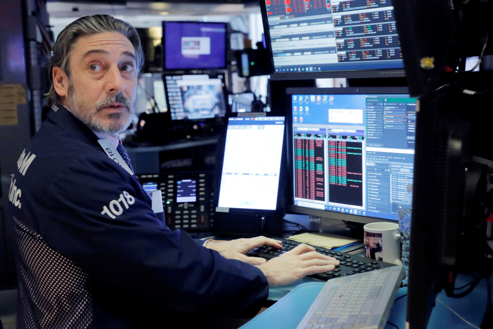 The broad-based S&P 500 was unchanged at 3,801.44, while the tech-rich Nasdaq Composite Index added 0.2 percent at 13,096.29. — Reuters pic