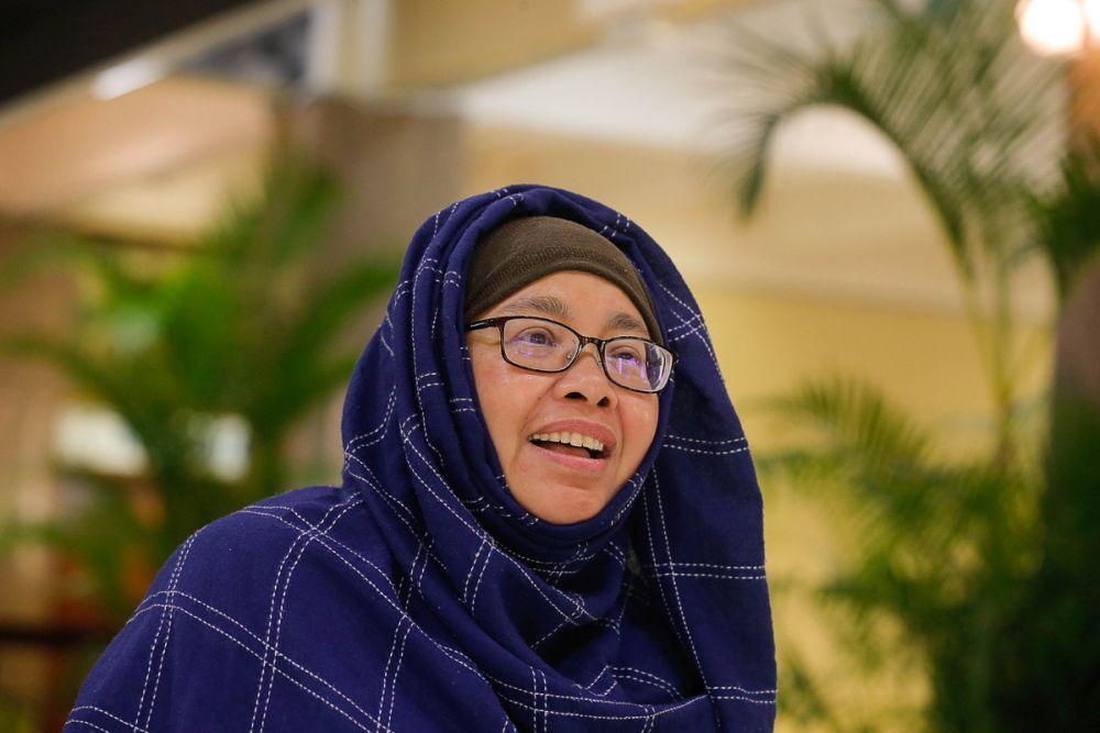 """诺丽拉为自己早前发表的""""办晒太阳活动对抗武汉肺炎""""言论而道歉。-Sayuti Zainudin摄-"""