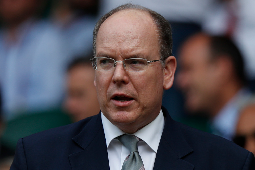 Monaco's Prince Albert II has tested positive for the novel coronavirus, the principality said in a statement on March 19, 2020, adding there were 'no concerns for his health'. — AFP pic