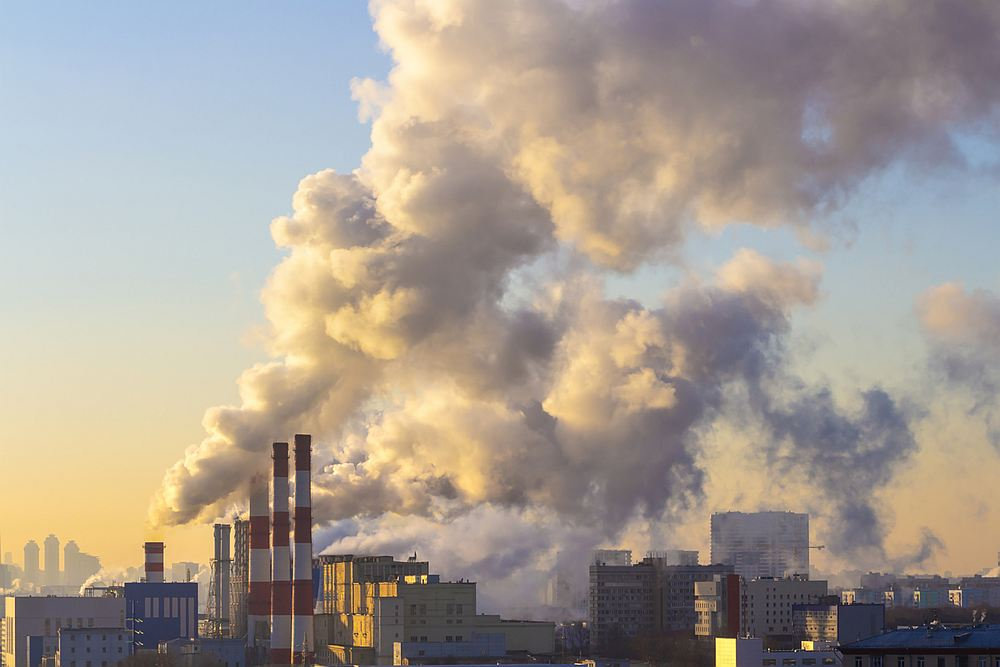 Exposure to air pollution could be negatively affecting our gut bacteria, according to new research. — letty17/IStock.com pic via AFP