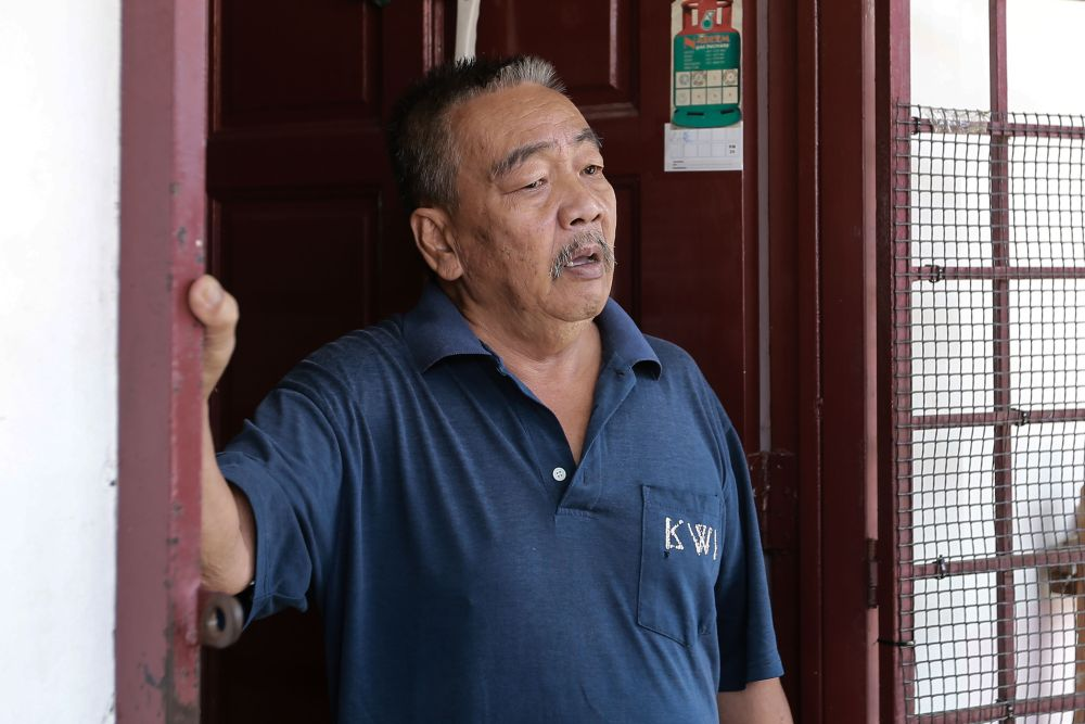 Former factory worker Roman speaks to Malay Mail during an interview in Kota Damansara March 20, 2020. ― Picture by Ahmad Zamzahuri