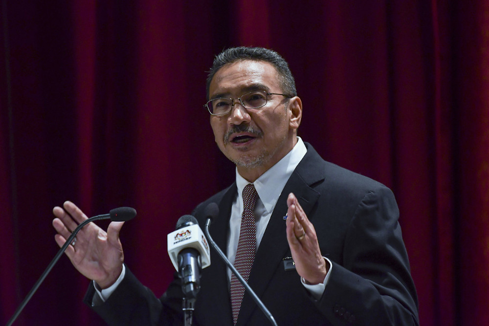 Foreign Minister Datuk Seri Hishammuddin Hussein said the  government will need more than RM50 million to bring back Malaysians from the US and the UK if the two countries implemented travel restrictions. — Bernama pic