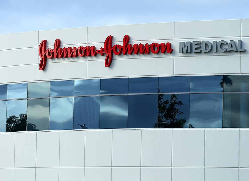 Johnson & Johnson faces 25,000 lawsuits by former users of its baby powder who say asbestos-laced talc in the product caused their cancers, it said in a securities filing yesterday. — Reuters pic