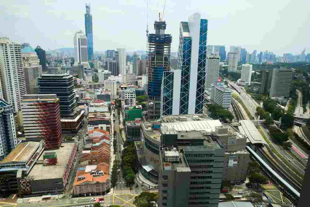 A general view of the Kuala Lumpur city centre during the movement control order, March 27, 2020. ― Picture by Choo Choy May