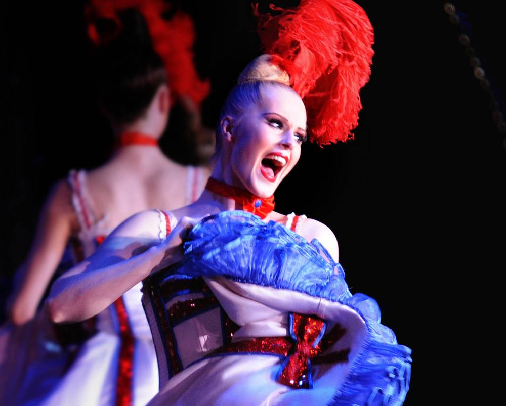 he exuberant performance at the Moulin Rouge on March 12, 2020 was likely the last for several weeks after France banned gatherings of more than 100 people. — Picture courtery of Moulin Rouge/S. Bertrand via AFP