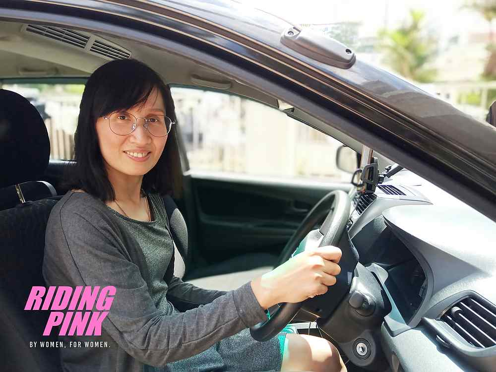 Riding Pink is a female-only e-hailing service designed to give women peace of mind when booking a ride. — Picture courtesy of Riding Pink