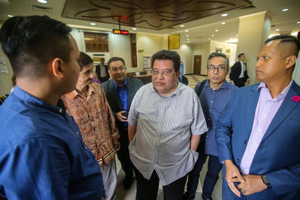 Datuk Seri Tengku Adnan Tengku Mansor is pictured at the Kuala Lumpur High Court March 5, 2020. — Pictures by Hari Anggara