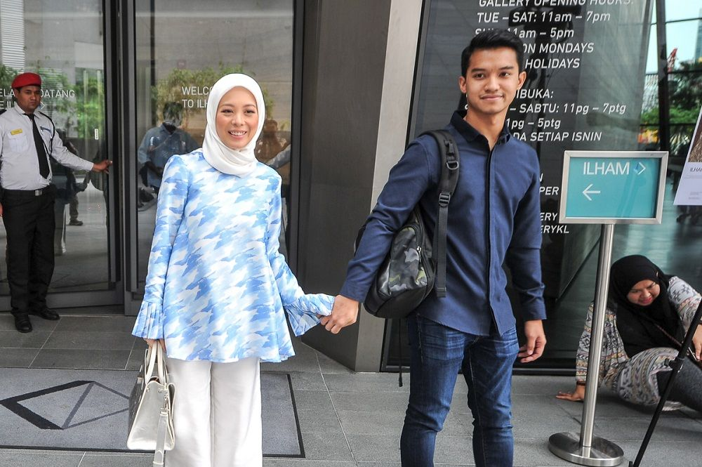 Datin Vivy Sofinas Yusof and her husband started the FV Covid19 Support Fund last week. — Picture by Shafwan Zaidon