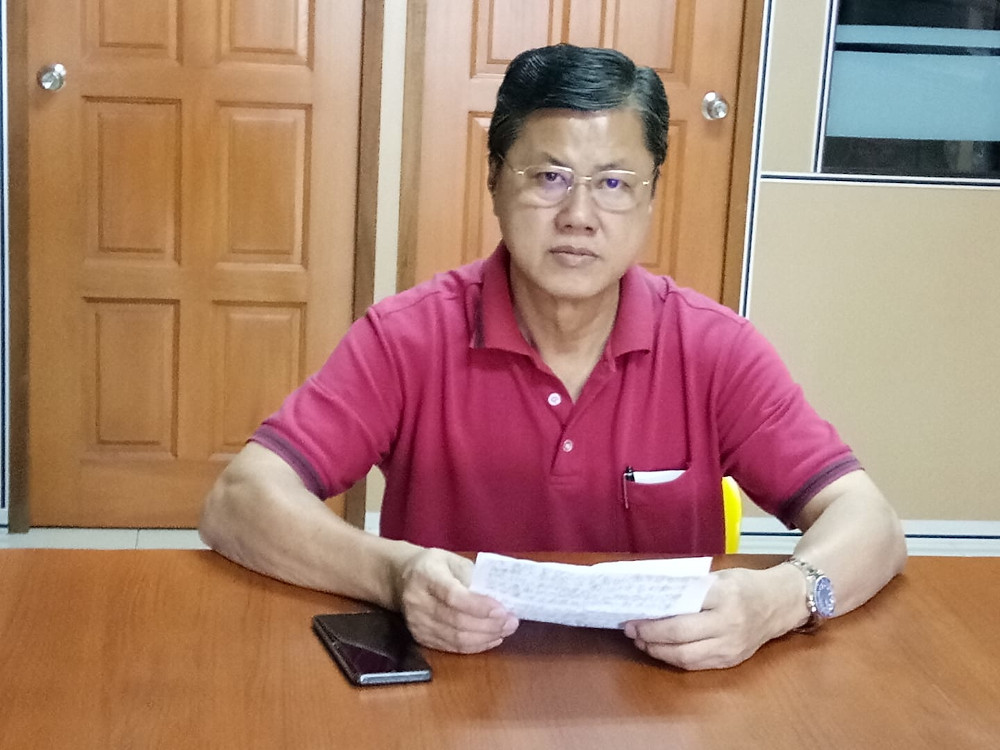 Sarikei Member of Parliament Wong Ling Biu of DAP had been admitted to the Sibu Hospital as a patient under investigation (PUI) for Covid-19. — Picture via Facebook/DAP Sarikei