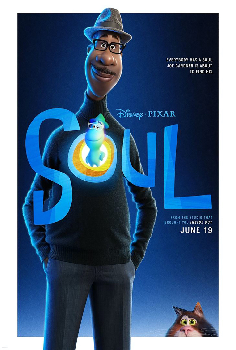The Pete Docter-directed feature 'Soul' will now be released in November. — Picture courtesy of Pixar