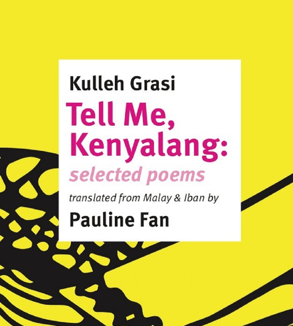 'Tell Me, Kenyalang' features multilingual poems, with their English translations. Picture by Kulleh Grasi. — Picture courtesy of Kulleh Grasi