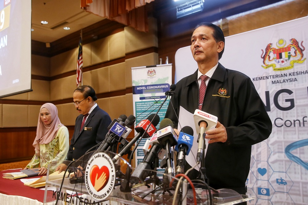 Health director-general Datuk Dr Noor Hisham Abdullah said Malaysia recorded a total of 2,649 cases related to zoonosis as of June this year. — Picture by Choo Choy May